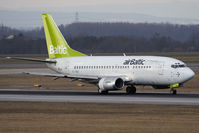 YL-BBE @ VIE - Boeing 737-53S