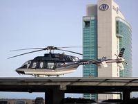 C-FVTC @ CTA9 - Marc Simard's private Bell 407 Helicopter at the Casino de Lac Leamy in Gatineau - by CdnAvSpotter