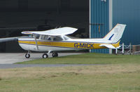 G-MICK @ EGNH - Local Flying Group Cessna F172N at Blackpool