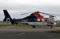 G-BLEZ @ EGNH - One of the offshore Helicopters based at Blackpool