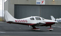 N350DG @ EGNH - A welcome visitor to Blackpool in Feb 2008