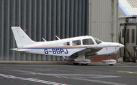 G-BGPJ @ EGNH - Piper Pa-28-161 at Blackpool in Feb 2008