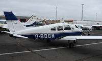 G-BDGM @ EGNH - Pa-28-151 at Blackpool in Feb 2008