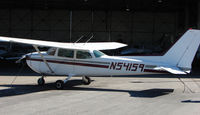 N54159 @ SPG - part of the GA scene at Albert Whitted airport in St.Petersburg , Florida