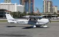 N2468Z @ SPG - part of the GA scene at Albert Whitted airport in St.Petersburg , Florida