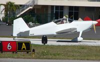N666R @ SPG - part of the GA scene at Albert Whitted airport in St.Petersburg , Florida