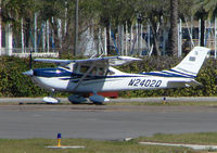 N2402Q @ SPG - part of the GA scene at Albert Whitted airport in St.Petersburg , Florida
