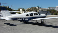 N82746 @ SPG - part of the GA scene at Albert Whitted airport in St.Petersburg , Florida