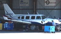N68CC @ SRQ - Piper receives maintenance attention at Sarasota