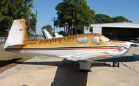 N9361M @ VNC - A very attractive colour scheme on this Mooney