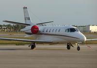 N577QS @ RSW - Citation Excel on the Southwest Florida executive ramp