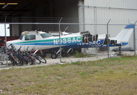 N938AC @ APF - Looks like the end of the road for this Cessna and his two companions