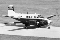 62-3864 @ DPA - When active as 62-3864.  Originally a 35mm color slide, zoomed up and converted to B&W internegative to make 5X7 print. - by Glenn E. Chatfield