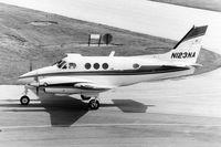 N123NA @ DPA - Photo taken for aircraft recognition training.  Ex- N123NA, Beech King Air 90 - by Glenn E. Chatfield