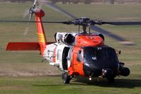 6037 - San Diego based Coast Guard MH60J Jayhawk (S-70B-5) 6037 arriving at Hansen Dam Park. - by Dean Heald