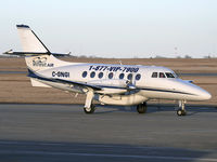 C-GNGI @ CYYC - Infinit Air Private Jetstream 31 taxiing to the Shell apron - by CdnAvSpotter