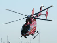 C-GCPH @ CYYC - Stars Air Ambulance Helicopter departing from the Shell Aero Centre - by CdnAvSpotter