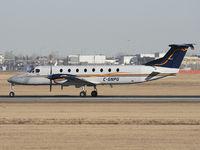 C-GNPG @ CYYC - Landing on Rwy 34 - by CdnAvSpotter