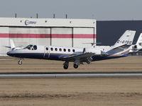 C-GTGO @ CYYC - Landing on Rwy 34 - by CdnAvSpotter