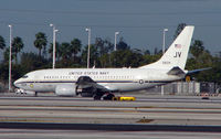 165834 @ MIA - US Navy C-40A in Miami during 'Boat Show week'