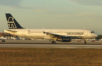 N361DA @ MIA - Mexicana A320 had previously operated in Turkey and Holland - seen here at Miami in Feb 2008
