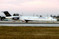 N905TA @ MIA - Aeropostal MD82 seen here at Miami in Feb 2008 - operated for 15 years with Finnair