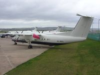 5H-MWG @ EGTE - DHC-8 ready for export to Air Tanzania at Exeter - by Simon Palmer