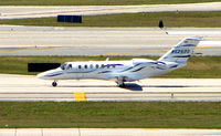 N525DG @ FLL - Cessna 525B arrives at FLL during Miami Boat Show week