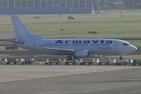 4L-TGL @ EHAM - Armavia Boeing 737-300 - by Thomas Ramgraber-VAP