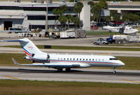N100A @ FLL - Global Express at Ft.Lauderdale Int during Miami Boat Show Week in Feb 2008 - by Terry Fletcher