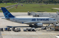C-GTSY @ FLL - Air Transat A310 brings more 'Snowbirds' to Ft.Lauderdale Int