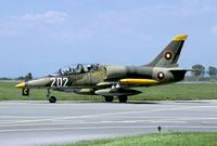 202 @ LBPG - This L-39 played the role of light attack aircraft during Co-operative Key 2005 - by Joop de Groot