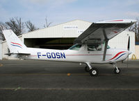 F-GOSN @ LFBR - In front the Airclub - by Shunn311