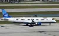 N206JB @ FLL - Jetblue Embraer 190 at Ft.Lauderdale Int