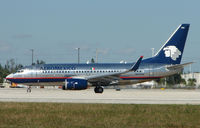 N855AM @ MIA - After its delivery in 2004 this Aeromexico B737 originally flew as XA-KAM
