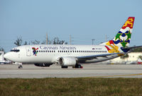 VP-CKY @ MIA - This colouful B737 previously operated in Australia and Polynesia