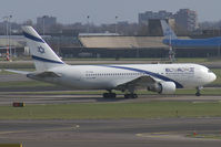 4X-EAB @ EHAM - El Al Israel Airlines Boeing 767-200 - by Thomas Ramgraber-VAP