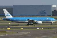 PH-BQO @ EHAM - KLM - Royal Dutch Airlines Boeing 777-200