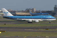 PH-BFF @ EHAM - KLM - Royal Dutch Airlines Boeing 747-400