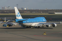 PH-BFU @ EHAM - KLM - Royal Dutch Airlines Boeing 747-400