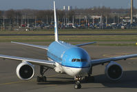 PH-BQD @ EHAM - KLM - Royal Dutch Airlines Boeing 777-200
