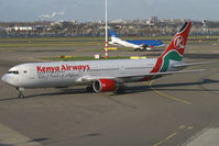 5Y-KQQ @ EHAM - Kenya Airways Boeing 767-300 - by Thomas Ramgraber-VAP