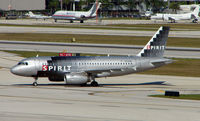 N532NK @ FLL - The latest delivered A319 to Spirit at the time of photograph in Feb 2008