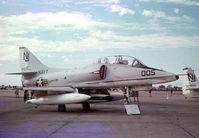 152854 - TA-4F at Dallas Naval Air Station