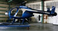 N128PD - MD500N wait for police call!  Puerto Rico Police - by wills