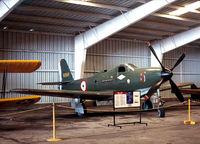 N191H @ HRL - Bell P-63 in the CAF hanger at Harlingen
