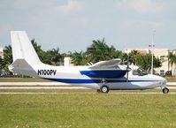 N100PV @ KTMB - Parked at Tamiami Kendall, South Miami - by Ivan Cholakov