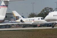 N503RV @ DAB - Falcon 20