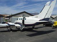 C-FFAP @ SZP - 1967 Cessna 402, two Continental TSIO-520-VBs 325 Hp each, airstair door, cargo door adjacent - by Doug Robertson