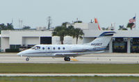 N420CT @ PBI - The business aircraft traffic at West Palm Beach on the Friday before President's Day always provides the aviation enthusiast / photographer with a treat